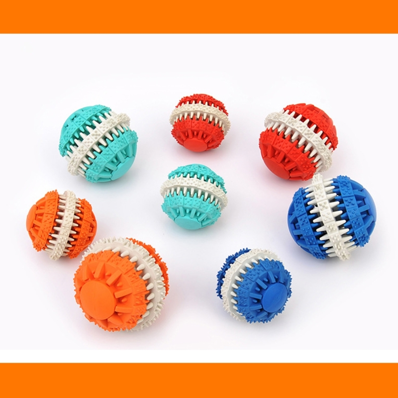 Toy Rubber Balls : Dog toy balls for pets tooth cleaning chewing toys