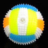 Dog Toy Balls for Pets Color Pet Flashing Ball Glowing Elastic Ball Dog Toy Ball Rubber Acoustic Mimo Bite Toys, Small Size, Random Color Shape Delivery