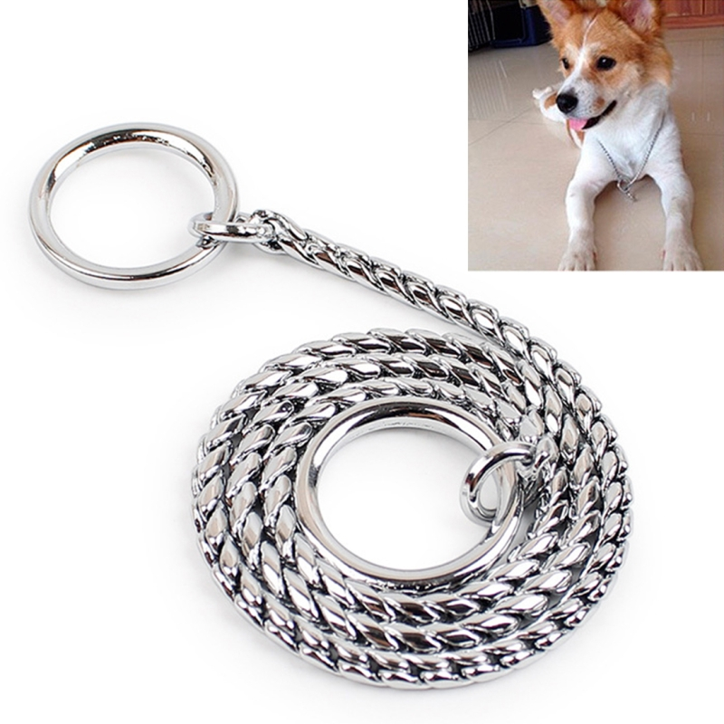 40cm Pet P Chain Pet Collars Pet Neck Strap Dog Neckband Snake Chain Dog Chain Dog Collar