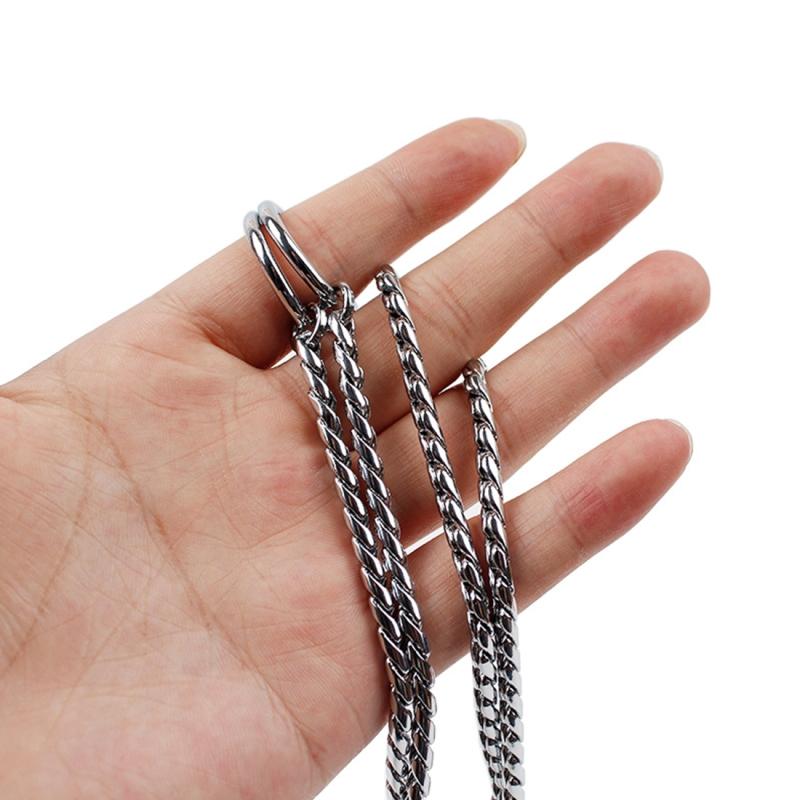55cm Pet P Chain Pet Collars Pet Neck Strap Dog Neckband Snake Chain Dog Chain Dog Collar