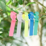 50 PCS Waterproof Label Floral Plant Label Gardening Label (Random Color)
