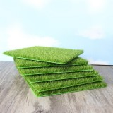 Simulation of Small Lawn Micro-landscape Green Grass Landscape