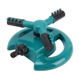Garden Automatic Rotating Nozzle 360 Degree Rotary Automatic Sprinkler Garden Lawn Watering Nozzle Irrigation Nozzle with 1/2 inch Water Hose Connector