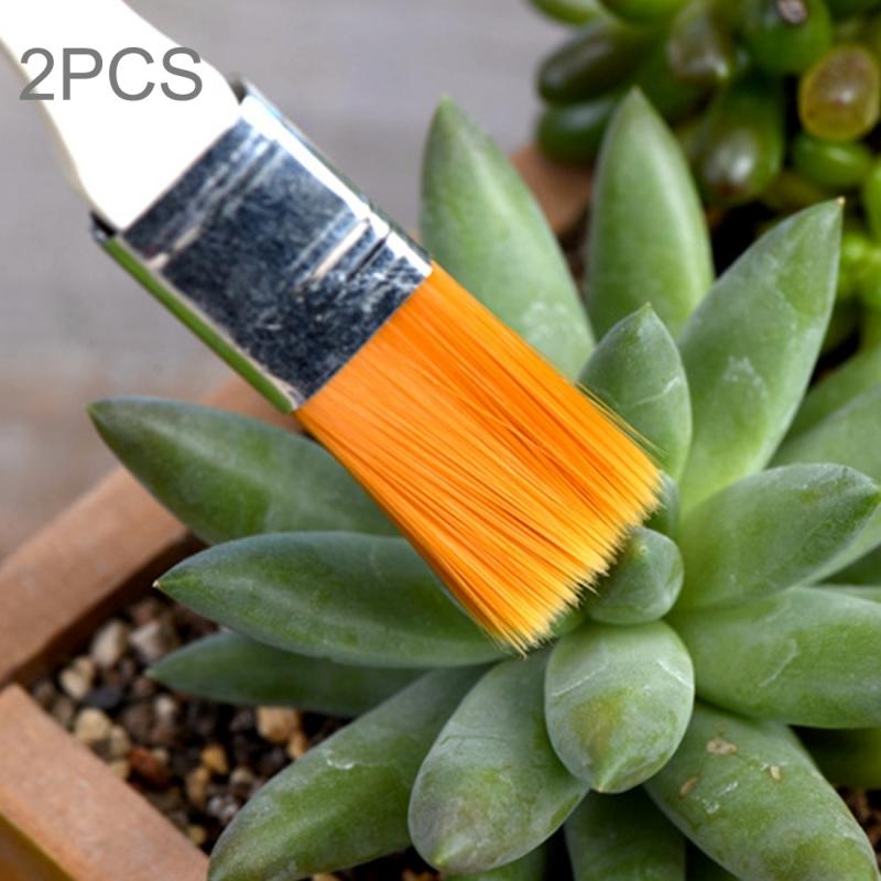 2 PCS Horticultural Plant Brushes Debris Brush Dust Brushes Multi-meat Plant Brushes Micro-landscape Moss Household Small Brush Tools