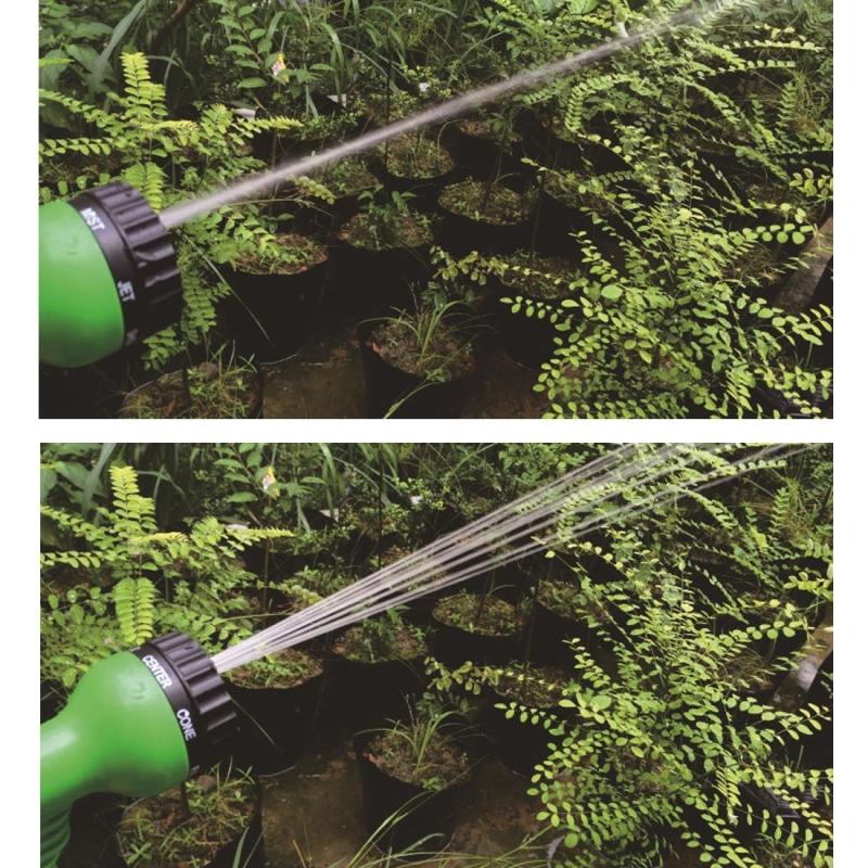 125FT Garden Watering 3 Times Telescopic Pipe Magic Flexible Garden Hose Expandable Watering Hose with Plastic Hoses Telescopic Pipe with Spray Gun (Random Color)