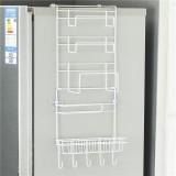 Multi-layer Fridge Storage Rack Side Shelf Sidewall Holder Multi-function Kitchen Organizer Household