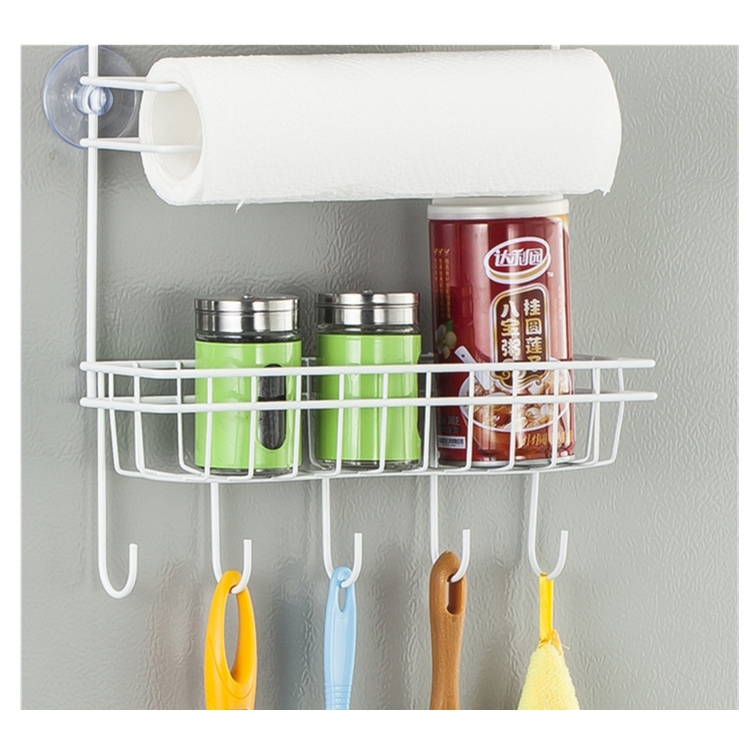 multi-layer fridge storage rack side shelf sidewall holder multi Side Wall Shelves