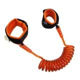 Kids Safety Harness Child Leash Anti Lost Wrist Link Traction Rope Anti Lost Bracelet, 1.5m (Orange)