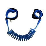 Kids Safety Harness Child Leash Anti Lost Wrist Link Traction Rope Anti Lost Bracelet, 2.5m (Blue)