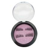 4 PCS 3D Magnetic False Eyelashes Eye Beauty Makeup Accessories Eye Lashes Extension Tools, 01#, Eyelash Length 2.1cm