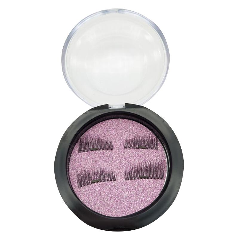 4 PCS 3D Magnetic False Eyelashes Eye Beauty Makeup Accessories Eye Lashes Extension Tools 01 ...