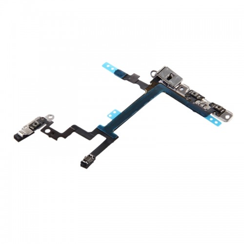 Replacement iPhone 5 Power Button & Volume Button Flex Cable with Brackets