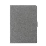 For iPad Air / iPad Air 2 / iPad Pro 9.7 / New iPad 9.7 (2017) Cloth Texture Horizontal Flip Leather Case with Holder & Sleep / Wake-up Function (Grey)