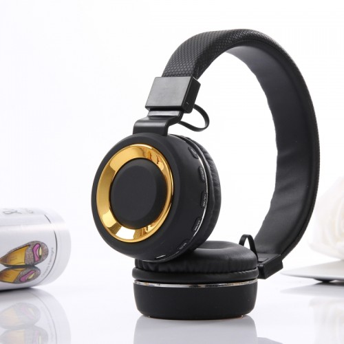 SH-18 Headband Folding Stereo Wireless Bluetooth Headphone Headset, Support 3.5mm Audio Input & Hands-free Call & & TF Card & FM Function for iPhone, iPad, iPod, Samsung, HTC, Sony, Huawei, Xiaomi and other Audio Devices