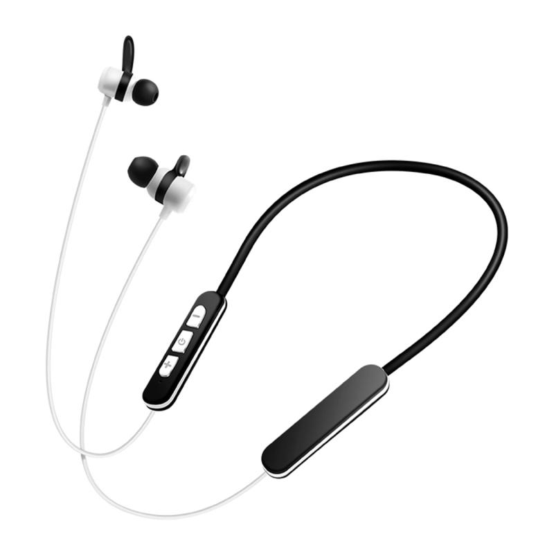 Earphones bluetooth wireless magnetic - earphones bluetooth wireless white