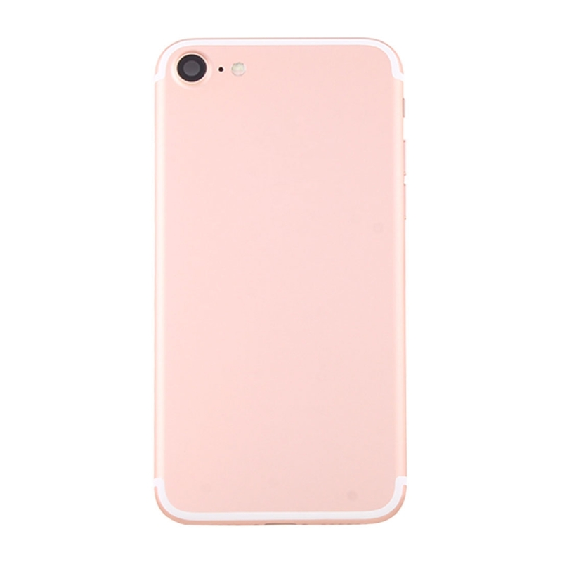 new styles f69ea c6da7 Replacement iPhone 7 Battery Back Cover Assembly with Card Tray (Rose Gold)