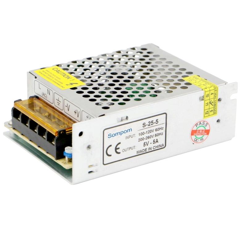 Sompom s 25 5 25w 5v 5a switching driver led light strip display led light strip display screen led44661g led4466g aloadofball Images
