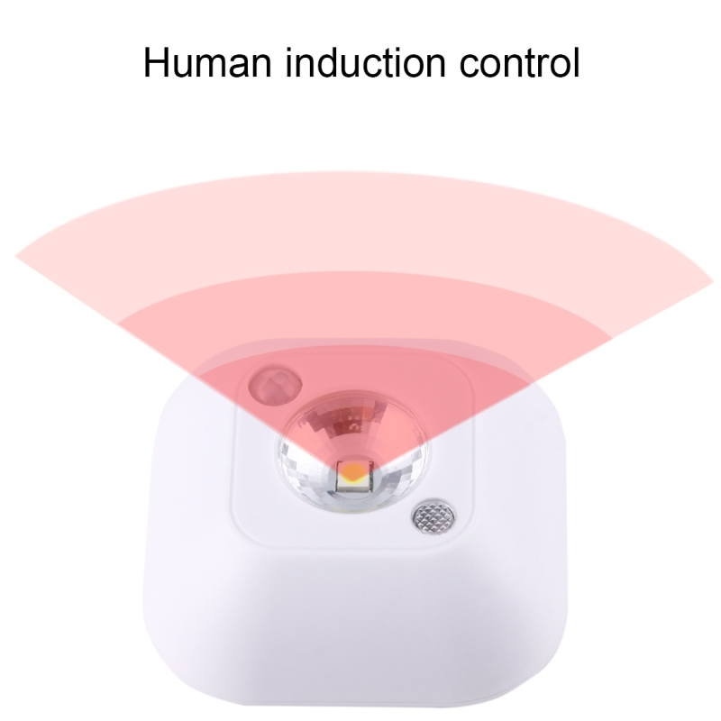 0.2W White Light Mini Human Body Motion Induction Ceiling Night ...