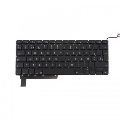 Replacement Macbook Pro 15 inch A1286 (2009 - 2012) Spanish Keyboard, No Backlight