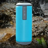 W-KING X6 Portable Waterproof Bluetooth 4.0 Stereo Speaker with Built-in MIC, Support Hands-free & Aux-in & TF Card & NFC & FM & MP3, Bluetooth Distance: 10m (Blue)