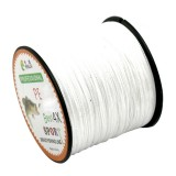 8.0# 0.50mm 80LB 40.8kg Tension 500m Extra Strong 4 Shares Braid PE Fishing Line Kite Line (White)