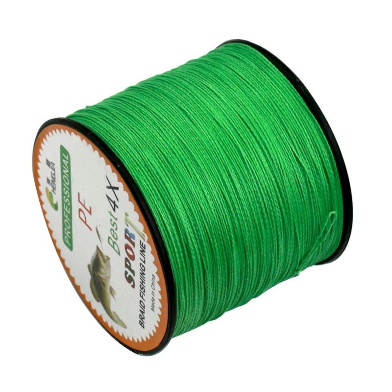 6.0# 0.40mm 60LB 27.2kg Tension 500m Extra Strong 4 Shares Braid PE Fishing Line Kite Line (Green)