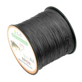 1.5# 0.20mm 22LB 9kg Tension 500m Extra Strong 4 Shares Braid PE Fishing Line Kite Line (Black)