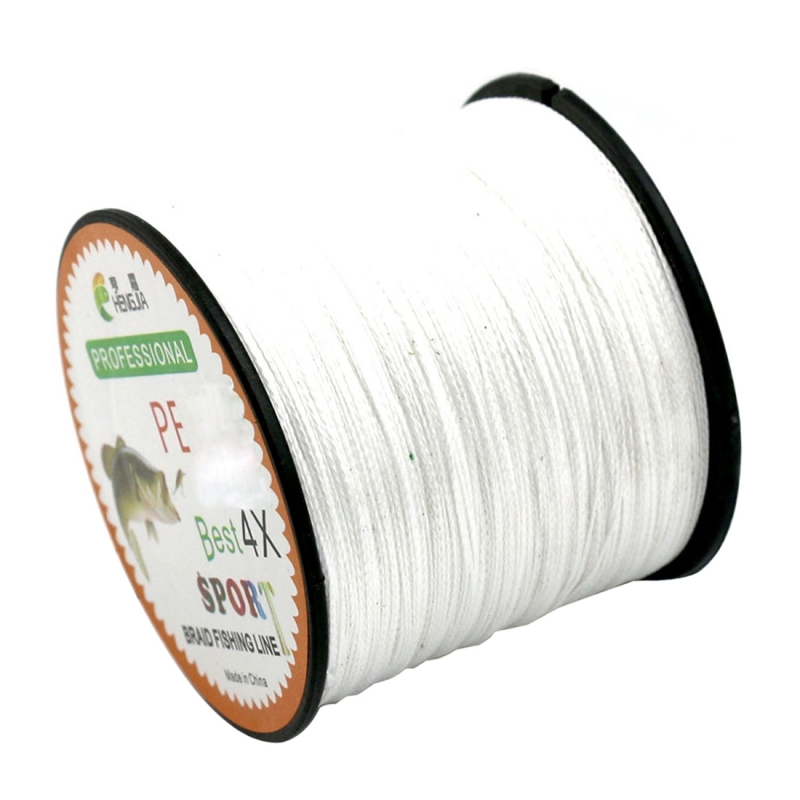 1.5# 0.20mm 22LB 9kg Tension 500m Extra Strong 4 Shares Braid PE Fishing Line Kite Line (White)