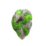 Aquarium Decoration Floating Pumice Suspended Stone Artificial Fish Tank Acuarios Moss Flying Rock Aquatic Ornament Landscape, 13.0×21.0cm