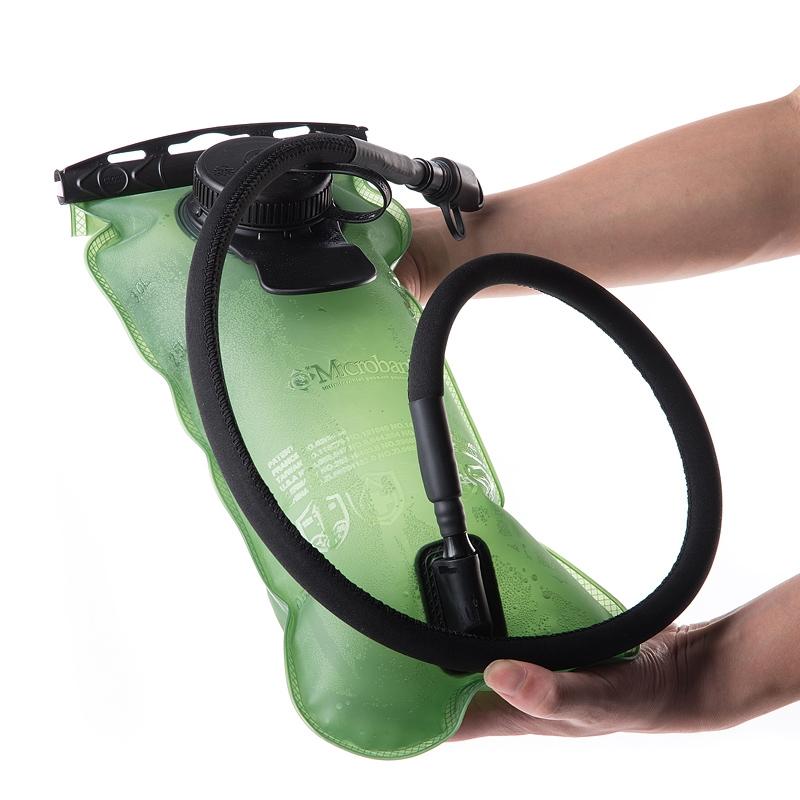 Sport Cycling Water Bag 3L Folding Portable PEVA Water Bladder Green