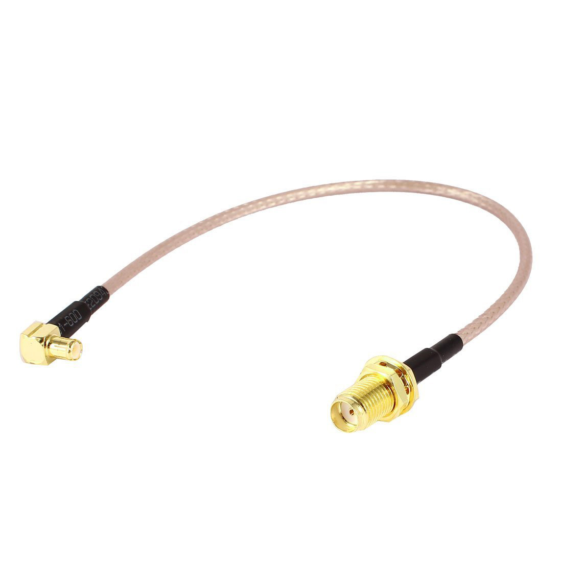 Rf Coaxial Cable : Cm sma female to mcx male right angle adapter rf coaxial