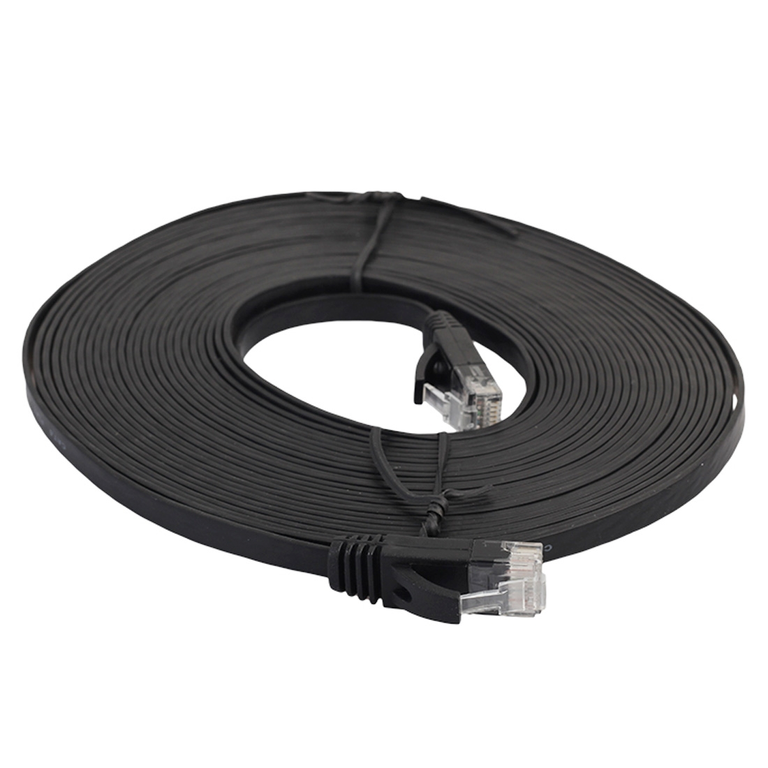 5m cat6 ultra thin flat ethernet network lan cable patch. Black Bedroom Furniture Sets. Home Design Ideas