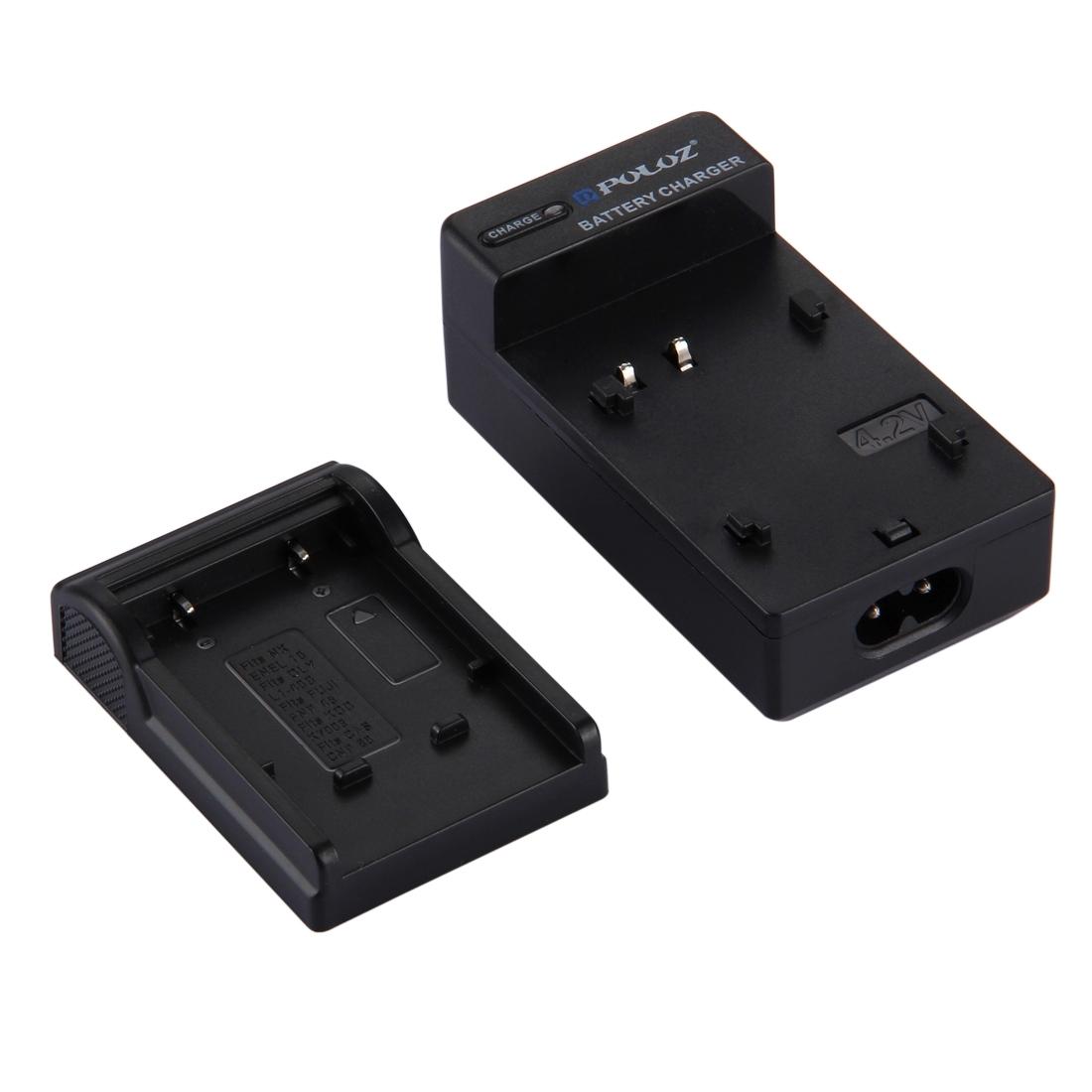 PULUZ EU Plug Battery Charger for Nikon EN-EL10, Olympus LI-40B, FUJI FNP-45, Kodak K7006, CASIO CNP80 Battery