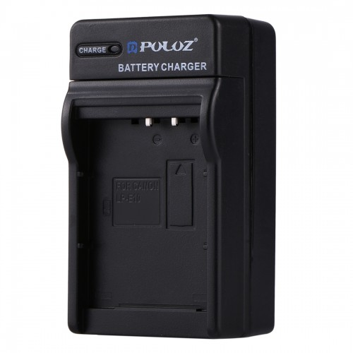 PULUZ 2 in 1 Digital Camera Battery Car Charger for Canon LP-E12 Battery