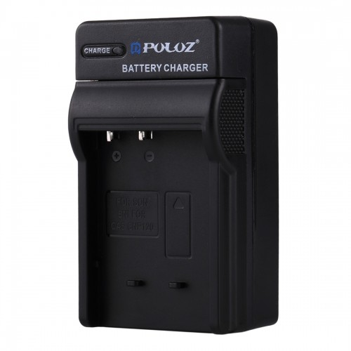 PULUZ 2 in 1 Digital Camera Battery Car Charger for Casio CNP120 Battery