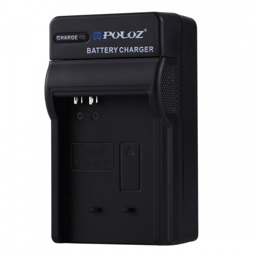 PULUZ 2 in 1 Digital Camera Battery Car Charger for Canon NB-4L / NB-8L Battery