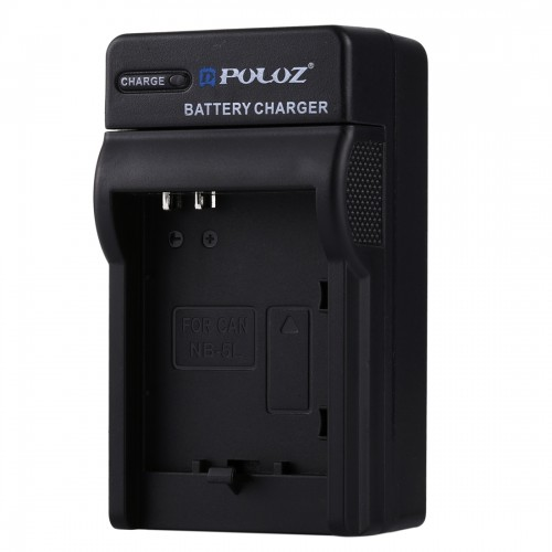 PULUZ 2 in 1 Digital Camera Battery Car Charger for Canon NB-5L Battery