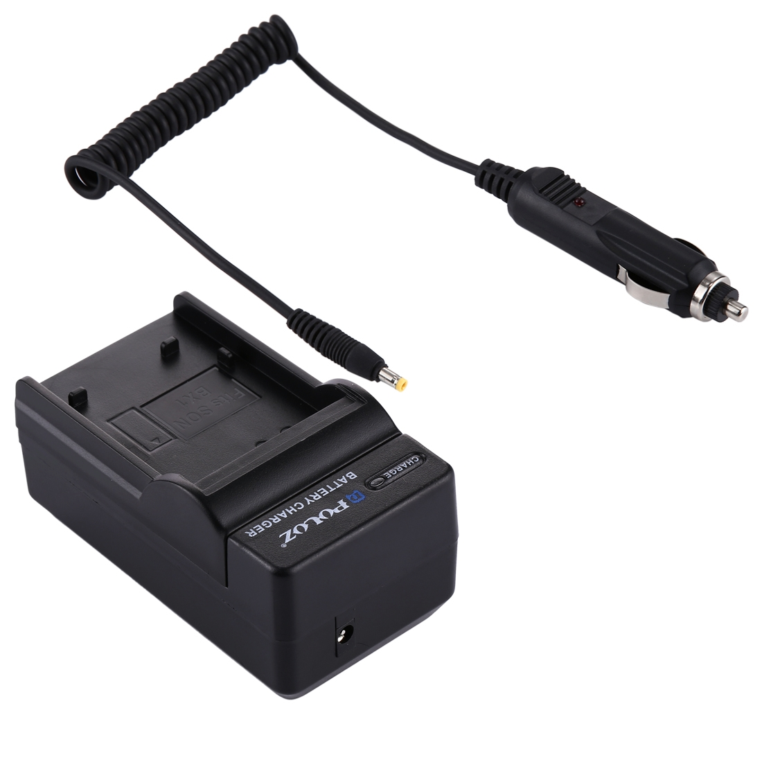 PULUZ 2 in 1 Digital Camera Battery Car Charger for Canon NB-6L Battery