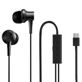 Original Xiaomi 1.25m USB-C / Type-C In-Ear Digital Wired Control Noise Reduction Music Earphone for Google, LG, Huawei, Xiaomi or Other Type-C Devices (Black)