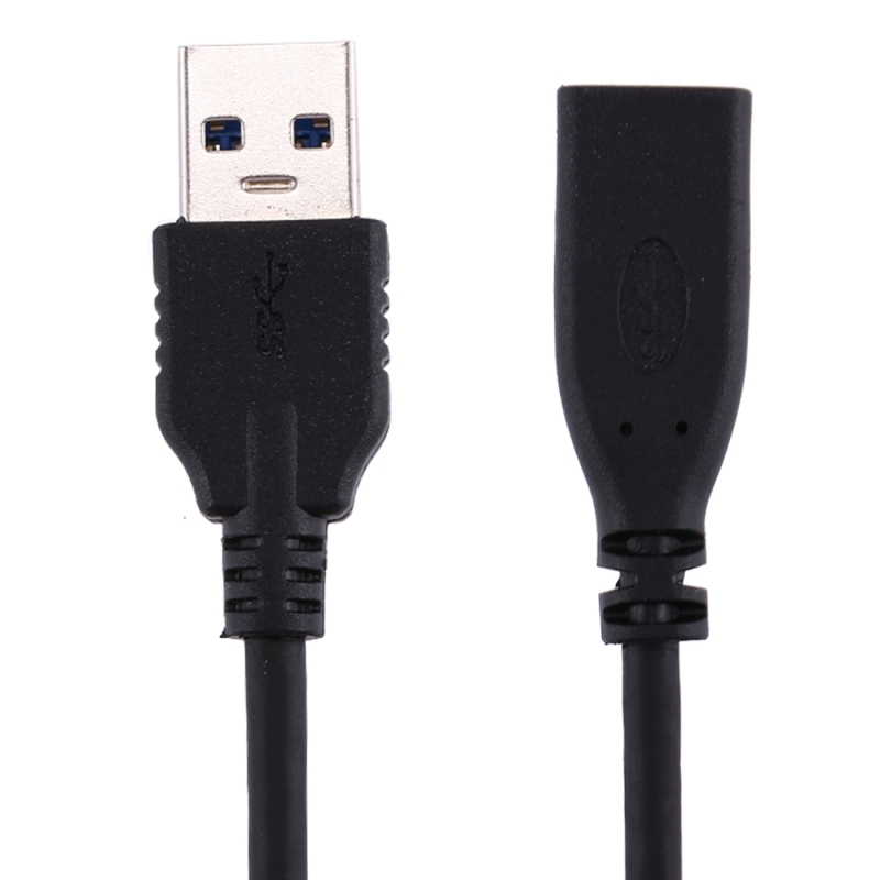 20cm USB 3.0 Male to USB-C / Type-C 3.1 Female Connector Adapter Cable (Black)