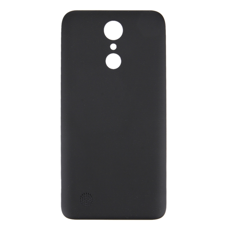 timeless design fec2e b2330 Replacement LG K10 2017 Back Cover (Black)
