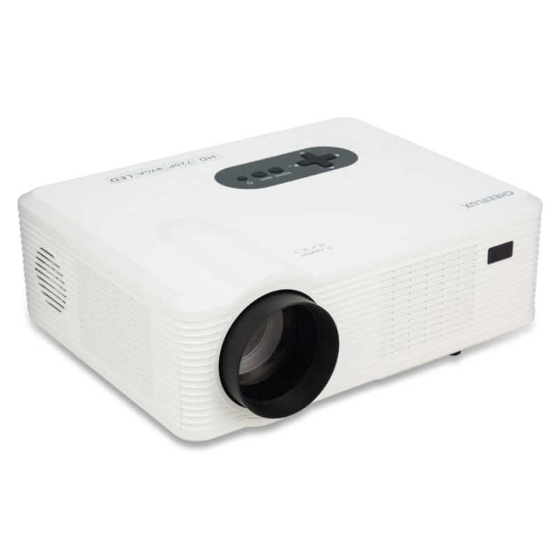 Original Excelvan Cl720 Led Projector 3000 Lumens 1280 X: CL720 3000LM 1280×800 Home Theater LED Projector With