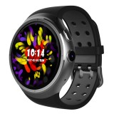 Z10 400*400 Pixel AMOLED 1.39 Inch Round Touch Screen Display Smart Watch, IP54 Waterproof, Support Pedometer / Heart Rate Monitor / GPS Navigation / Notification Remind / Call Reminder / Camera Remote Control / Calories Burned, Support Android 5.1 (Silver)