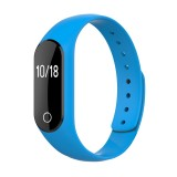TLW25 0.42 inch OLED Display Bluetooth Smart Bracelet, IP66 Waterproof, Support Heart Rate Monitor / Pedometer / Calls Remind / Sleep Monitor / Sedentary Reminder / Alarm / Remote Capture, Compatible with Android and iOS Phones (Blue)