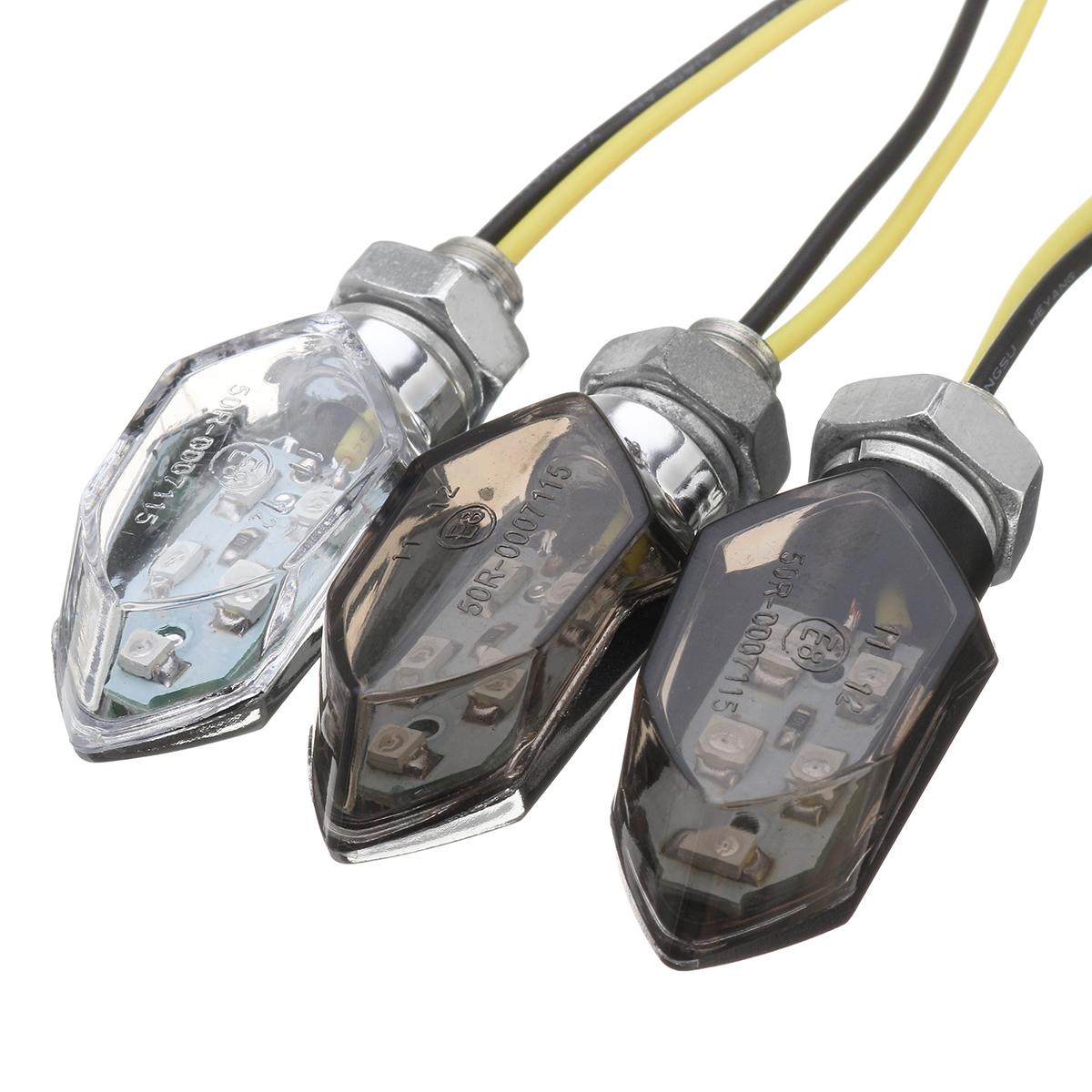5 smd led turn signal amber mini motorcycle blinker. Black Bedroom Furniture Sets. Home Design Ideas