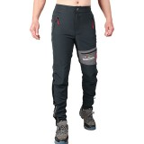 Mens Outdoor High-elastic Quick-drying Sport Pants Waterproof Breathable Slim-fit Climbing Trousers