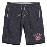 Men's Loose Knee-length Knit Shorts Casual Breathable Running Jogging Sport Shorts
