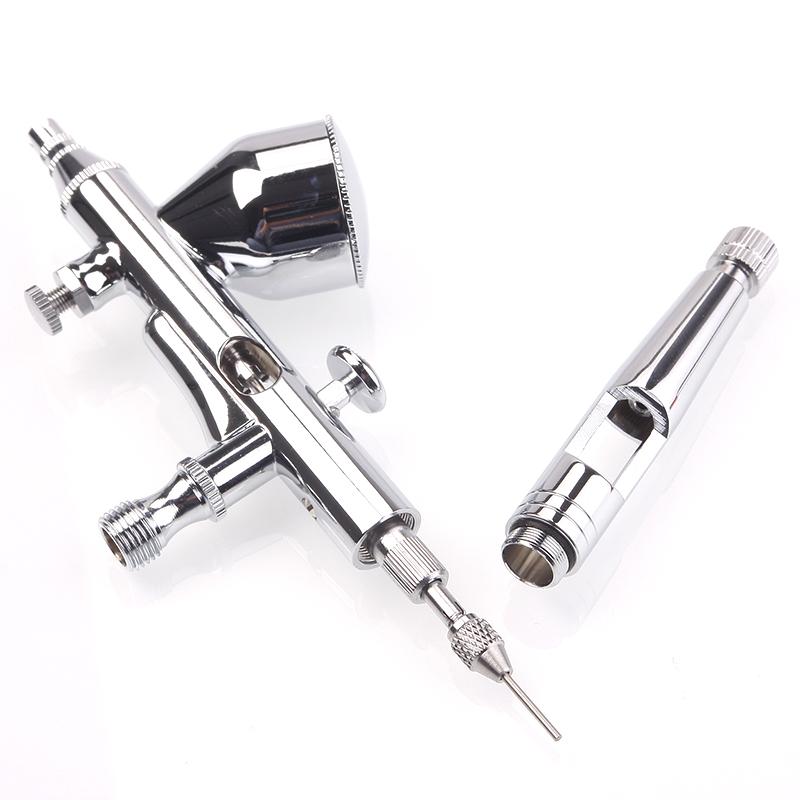0.2/0.3/0.5mm 9cc Dual Action Gravity Spray Gun Air Brush Paint Craft Tool Kit
