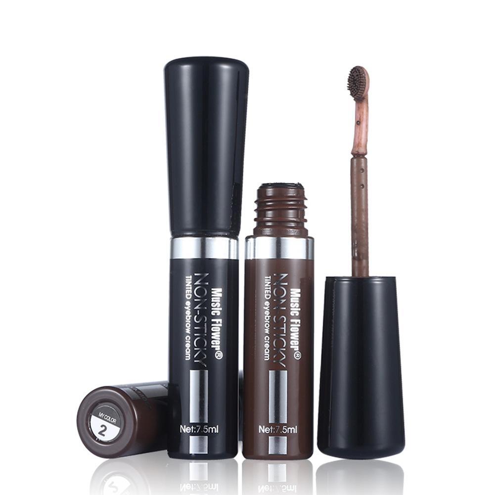 Music Flower Waterproof Eye Brow Enhancer Long-lasting Cosmetics With Brush Eyebrow Dye Cream Mascara. 1481275715_2109. ...
