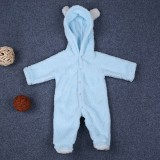Baby Infant Newborn Boy Girl Romper Hooded Jumpsuit Bodysuit Outfits Clothes Hooded